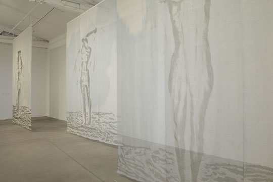The Veiling #1 (installation view)