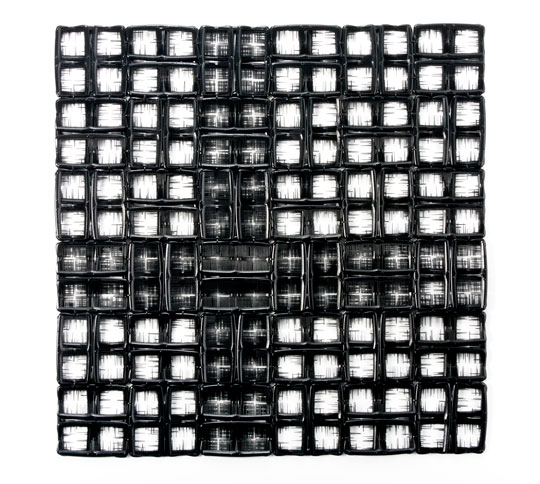 Sonya Clark - Black Cross Worn Thin II